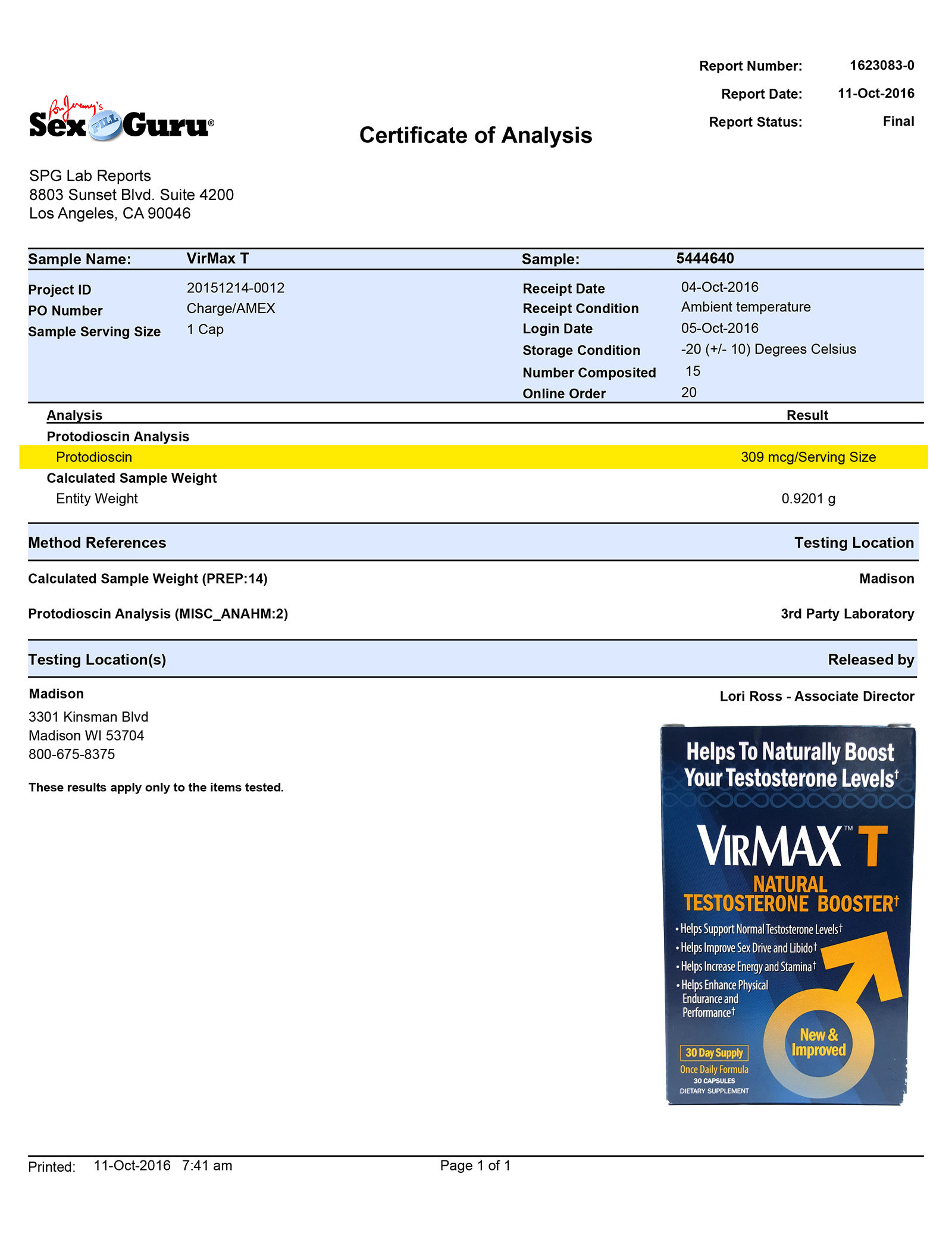 Lab Report - Virmax